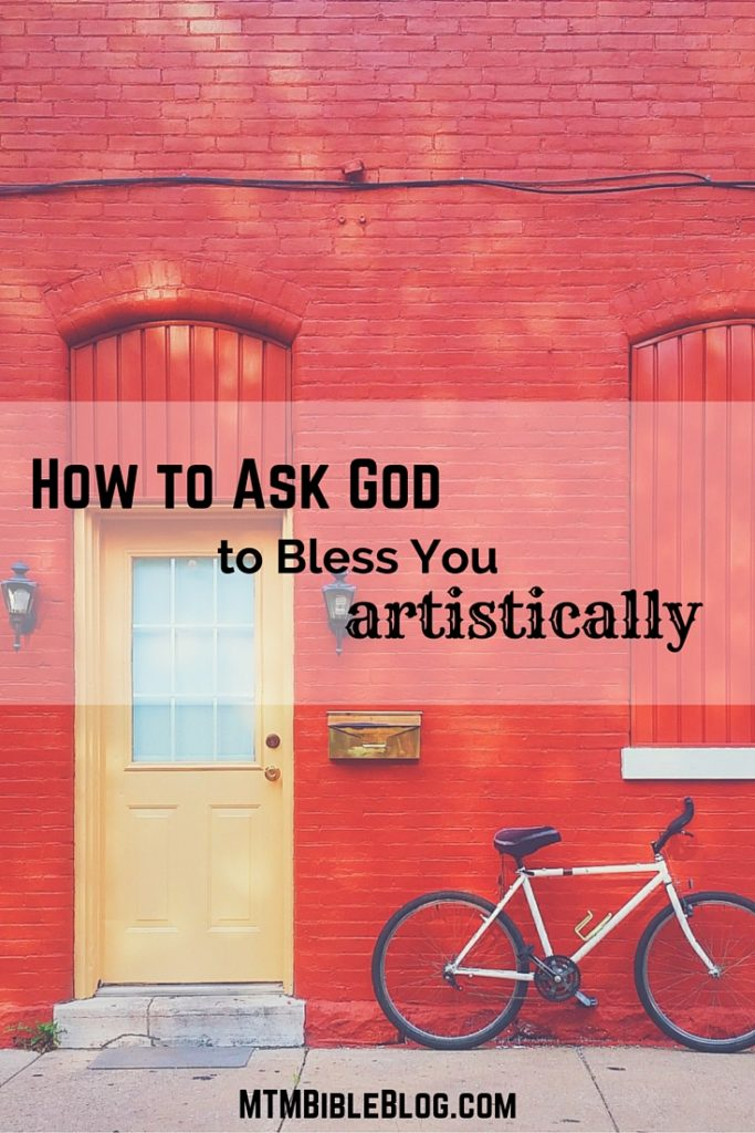 Get inspired by God and learn how to ask Him to bless you artistically!