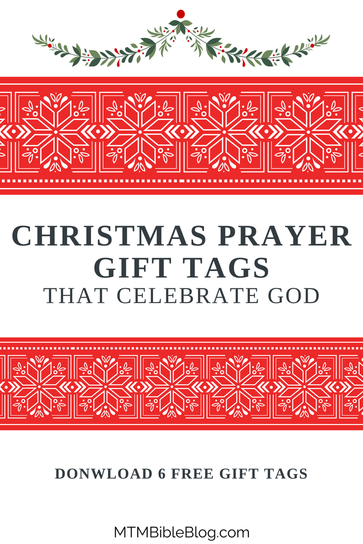 Looking for free Christmas gift tags? Download these 6 free designs!