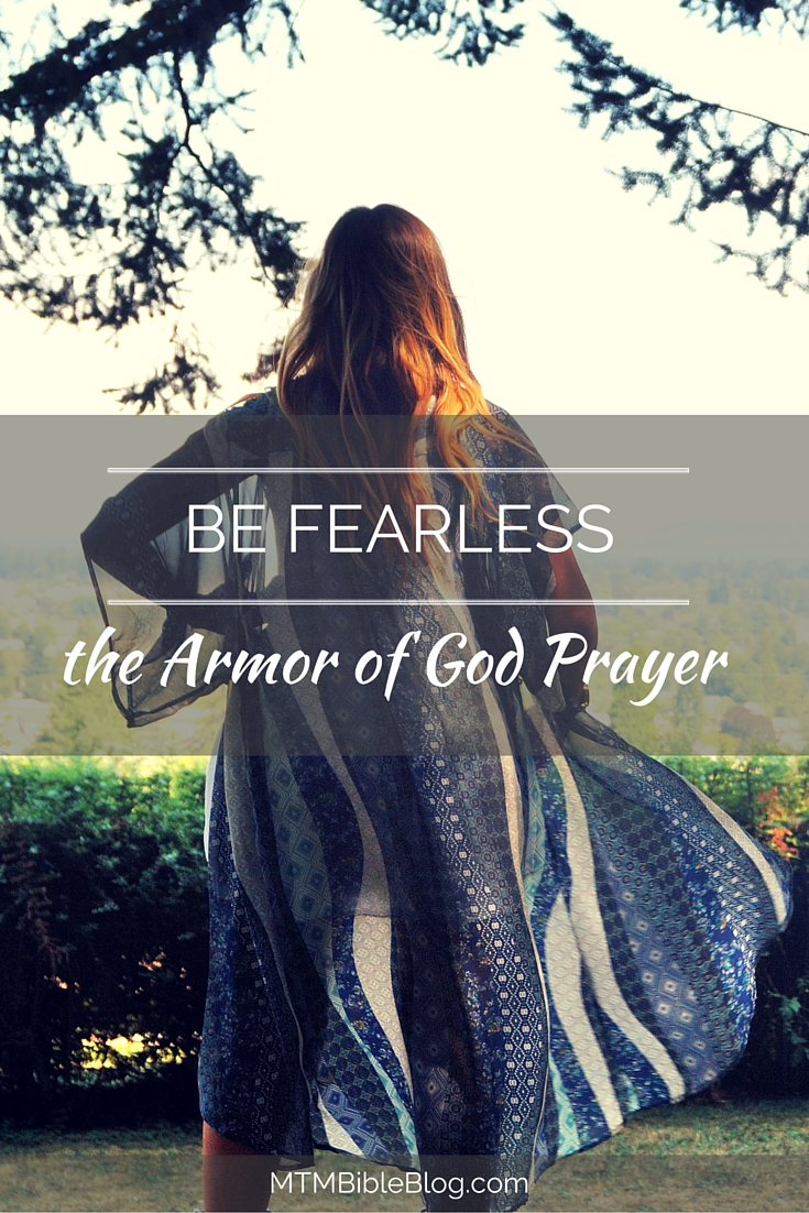 Ready to be fearless? Read our article on the Armor of God prayer!