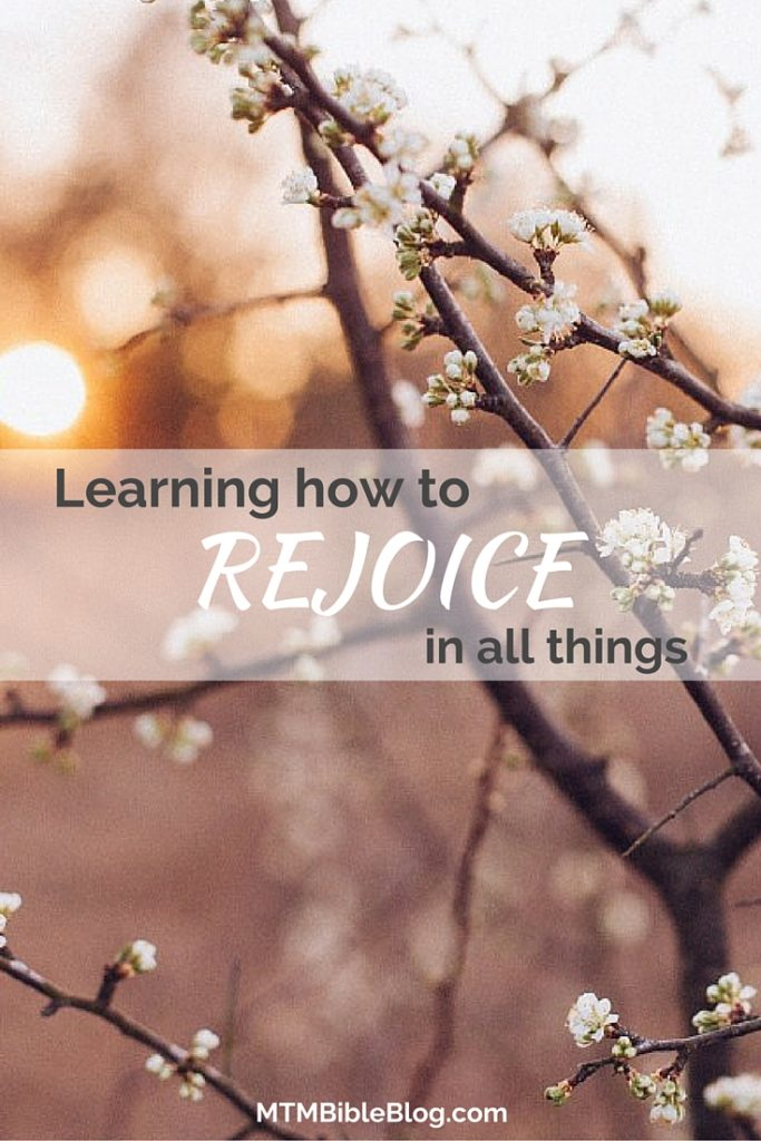 Are you struggling with learning how to rejoice in all things? Tune into Amanda while she brings a fresh perspective on this!