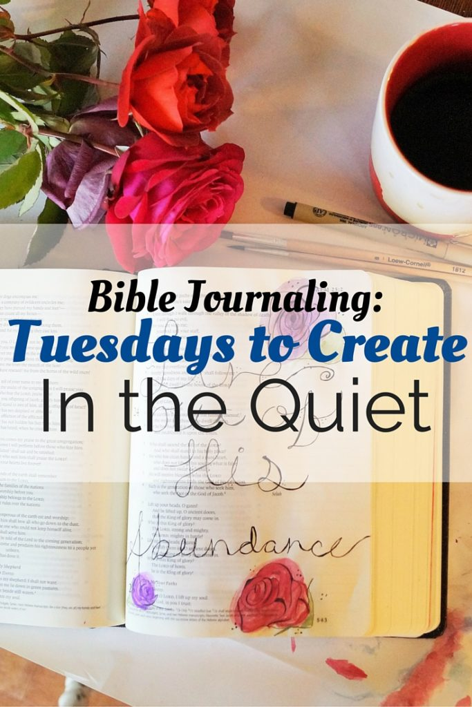 Join our Lenten study that focuses around Bible journaling!