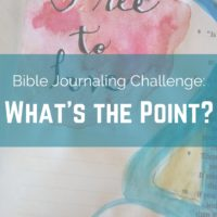 Join us for our Lent Bible journaling challenge!