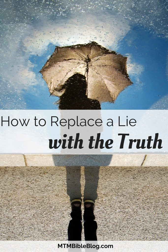 Let's jump into God's Word and learn how to replace a lie with the truth!