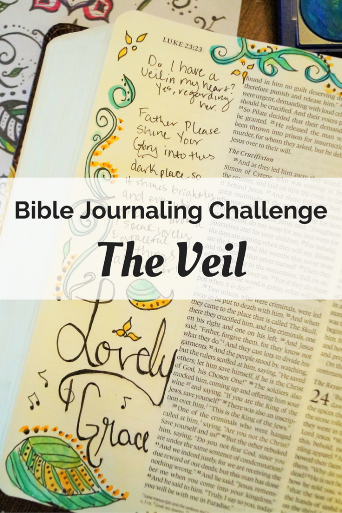 It's Easter time! Join us in Bible journaling for lent!