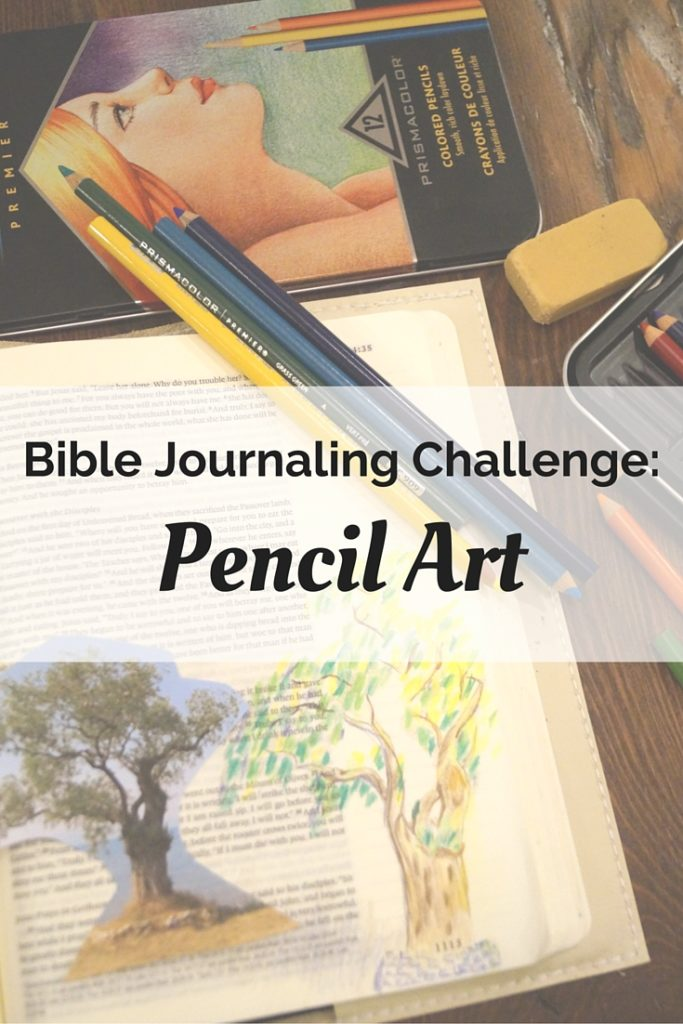 Tune into our video of how Bible journaling with pencil art!