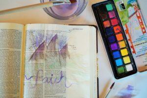 bible journaling move the mountains
