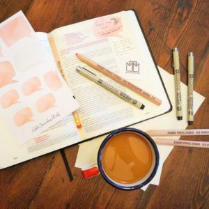 The Bible Journaling for Beginners Kit is perfect for the woman who feels a little artistically challenged and wants to start with the basics of Bible journaling.