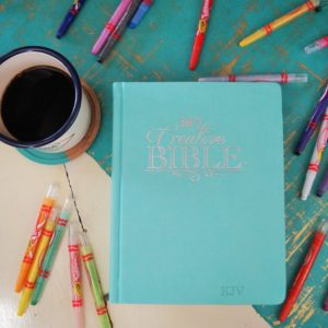 Would you like a coloring Bible with the traditional text of the KJV? Click here to learn more!