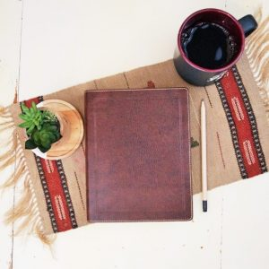 Looking for a leather NKJV journaling Bible? This softcover journaling Bible may be just the right fit!