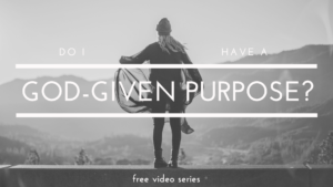 "Have you been wondering if you have a God-given purpose? Have you been thinking that there must be more to this Christian lifestyle but does God really care enough to have specific tasks for you to complete in your life? Even if He does, does it really matter if you do them or not? Could God even use you? All these questions and more are answered in the free series called, ""Do I have a God-given purpose?"" Click to learn more!"
