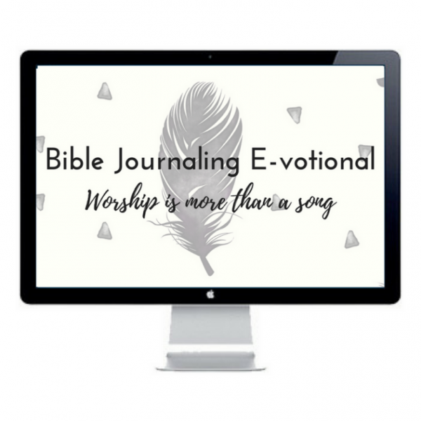 Worship is More than a Song is a 28 day online Bible journaling devotional which features Bible journaling prompts, printables, and daily devotionals for women.