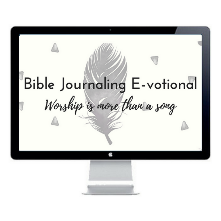 bible journaling devotional