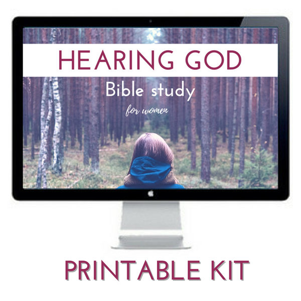 Is your heart's desire to hear God more clearly? There is good news, God wants to answer that prayer! Start today with our Hearing God Bible Study Kit.