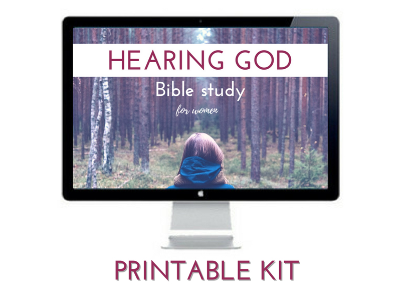 Hearing God Bible Study Kit