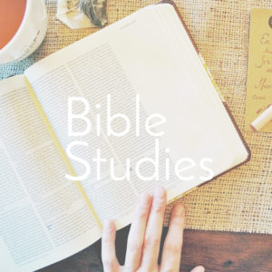 Classes, Devotionals, & Studies