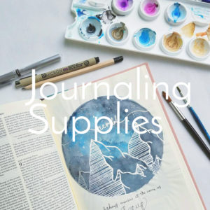 Journaling Supplies