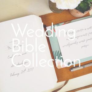 Wedding Bibles
