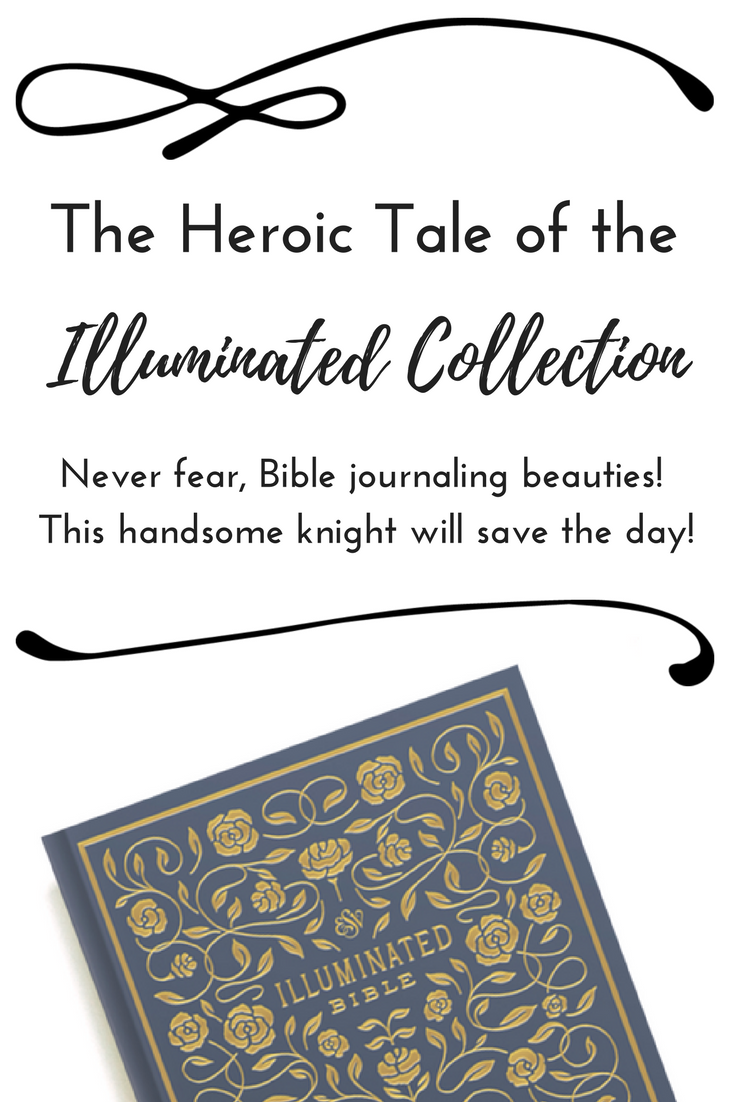 Have your been searching for Bible journaling aides? The Illuminated Collection is here to save the day!
