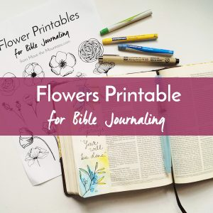 Are you excited about Bible journaling but don't feel like an artist? Let us lend a hand to your artistic process with Bible journaling traceables!