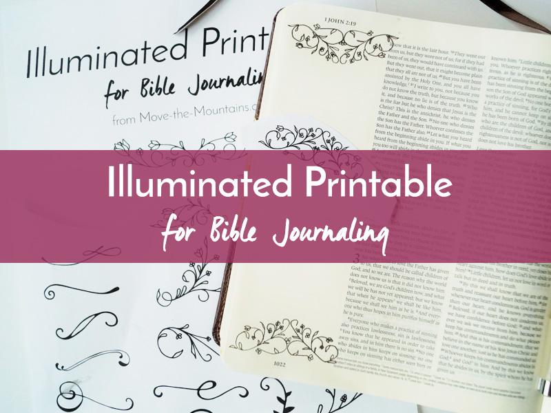 illuminated printable listing