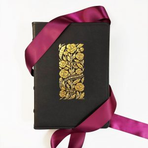 Looking for a leather Bible guestbook for your special day? Consider this Illuminated option that can be personalized with your wedding details!