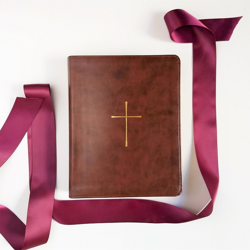 wedding bible guestbook – cross design