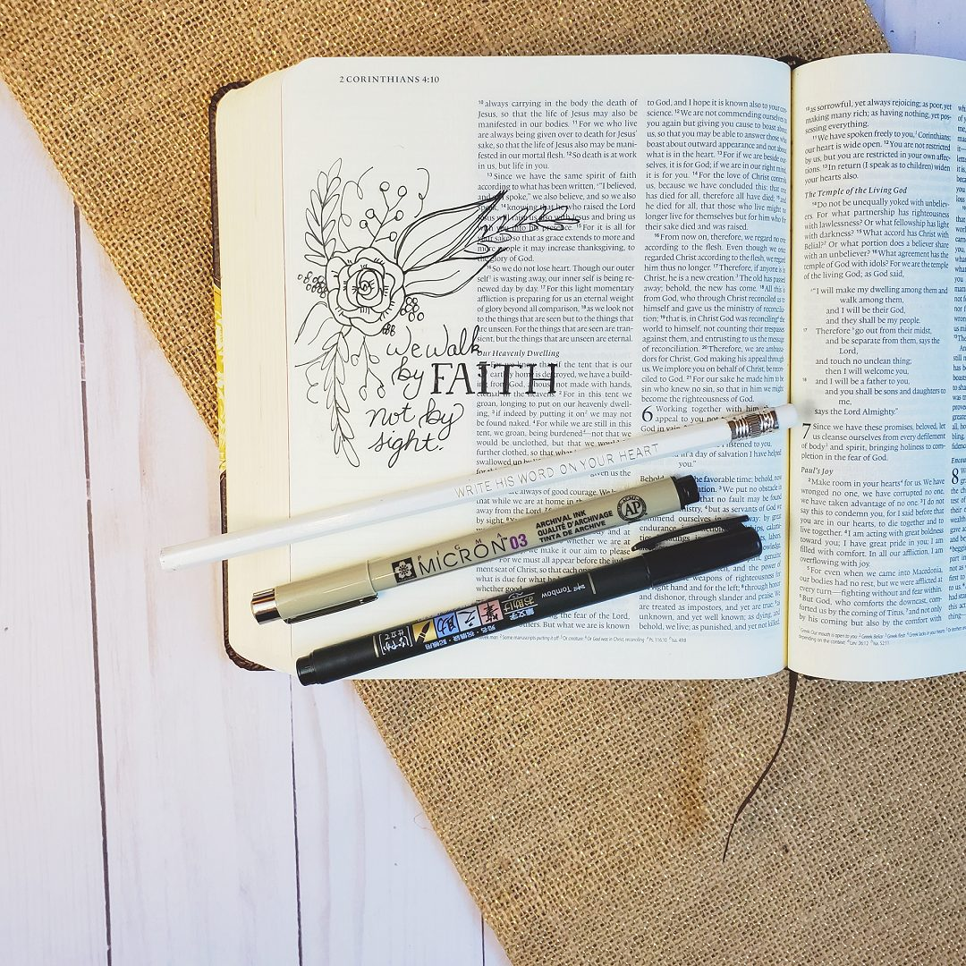bible journaling set