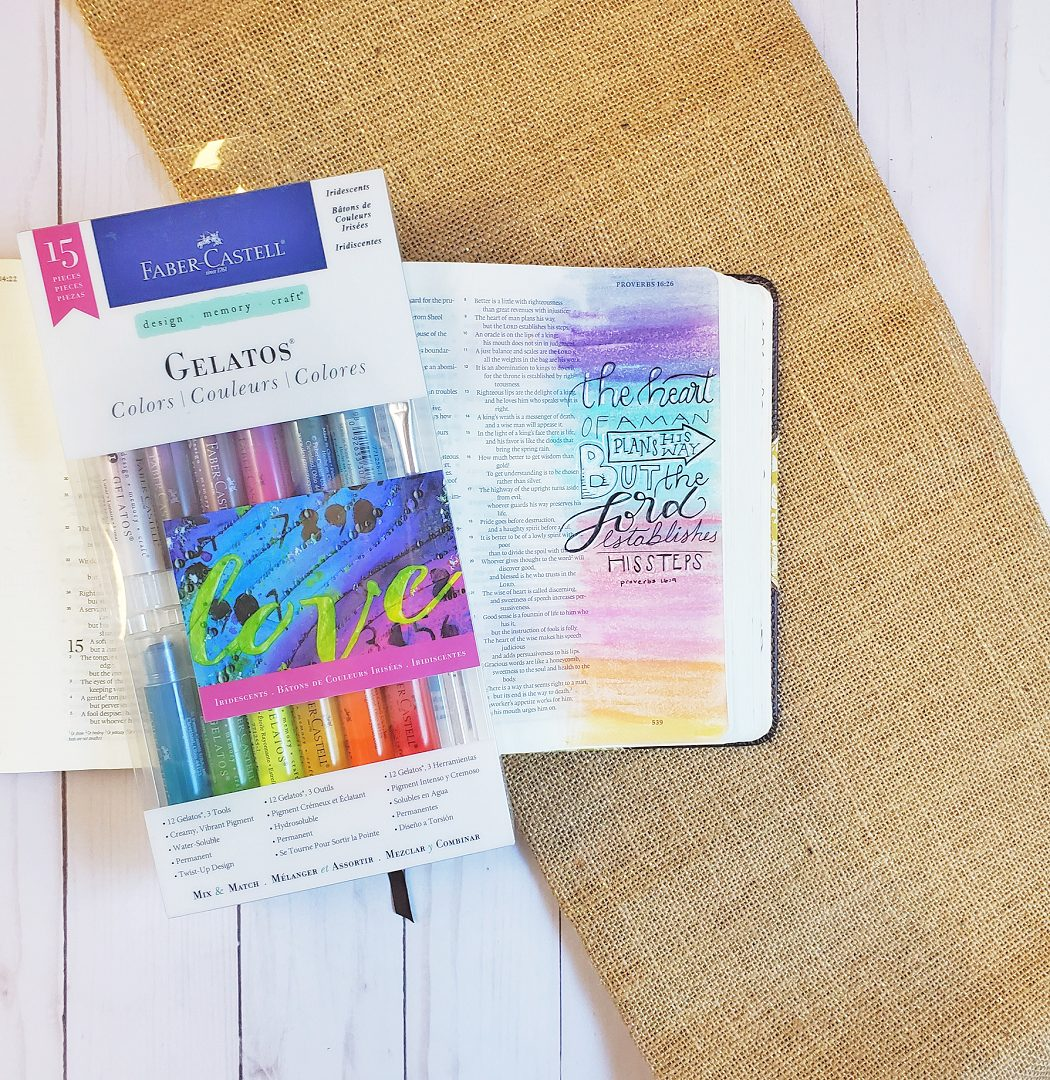 gelatos for bible journaling 1
