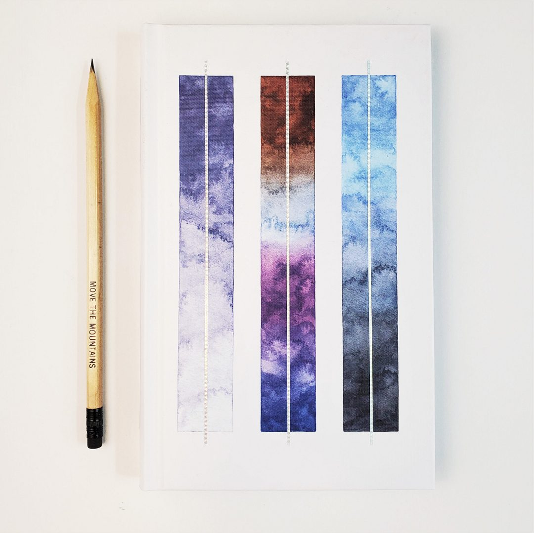 journal watercolor cover