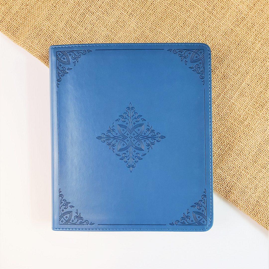 teal journaling bible