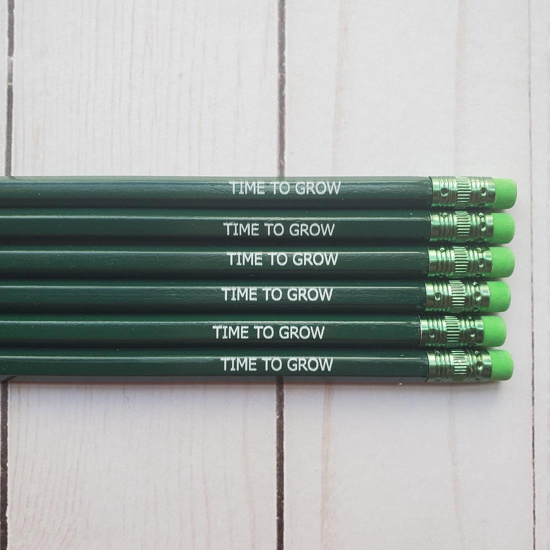 time to grow pencil set72